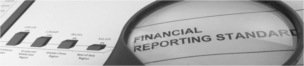 Financial Reporting Standards Effective for annual periods beginning